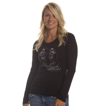 Fourth Element Womens Underwater Love LS Top