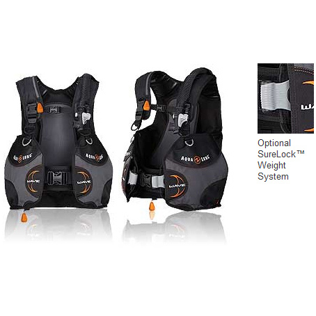 Aqualung BCD Weight System