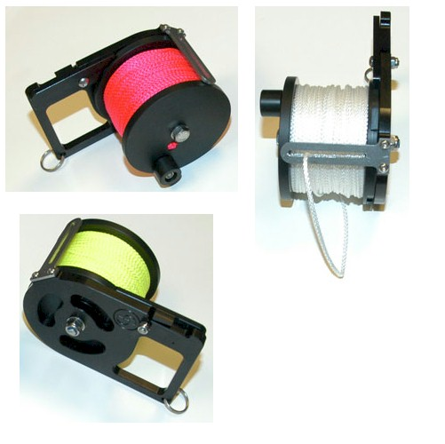 CUSTOM DIVERS 50mtr Pocket Ratchet Reel