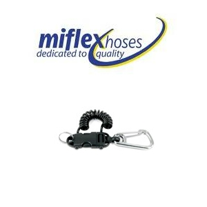 Miflex Smart Coil Extendable Clip - Strong Roccia with 70mm S/S