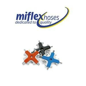 Miflex S/S Hex Multi Tool Red
