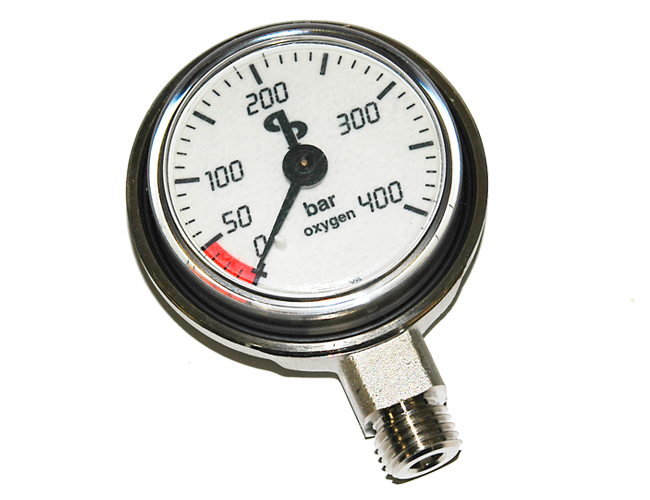 AP517 - Oxygen Contents Gauge (bar)NO HOSE