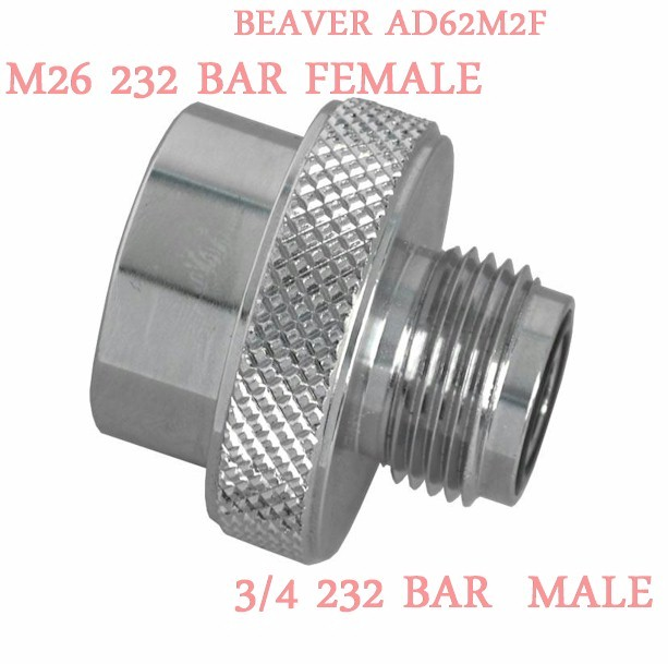 Beaver AD 62F2D 232 Bar M26 Female/232 Bar DIN Male