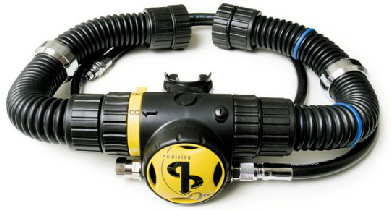 AP Open Circuit Bailout Mouth Piece excl Hoses
