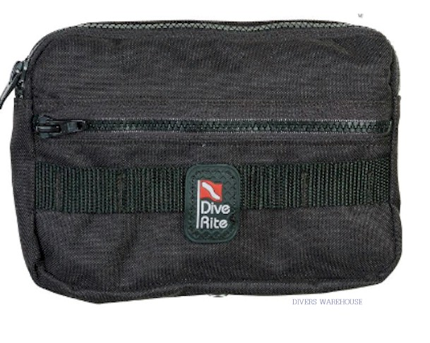 DiveRite Bellow Horizontal Pocket with Daisy Chain