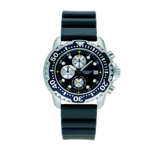 Momentum 200m Cyclone Watch Rubber Strap M CYC R