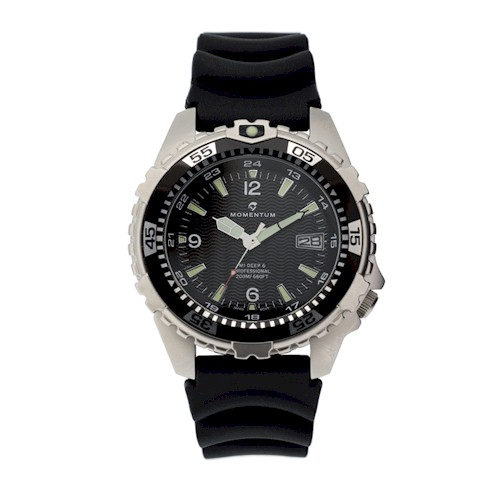 Momentum 200m Deep 6 Rubber Watch