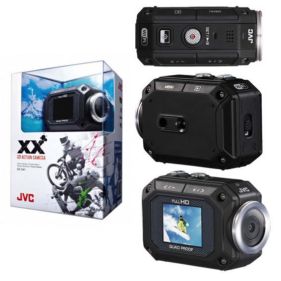 JVC XX HD Action Camera