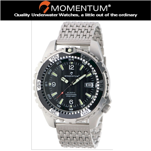 Momentum 200m Deep 6 S/S Watch