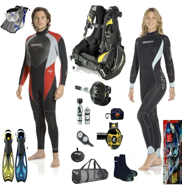 Full Diving Packages