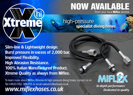 Miflex Xtreme-Hi Hoses HP 15cms/6in SUB 405.0150