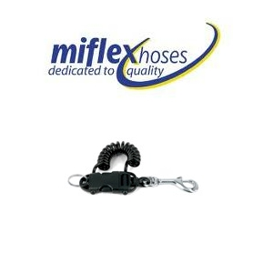 Miflex Smart Coil Extendable Clip - Inox 42 with 42mm Rapid S/S