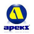 Apeks Regulator Hose 3/8in 1mtr long