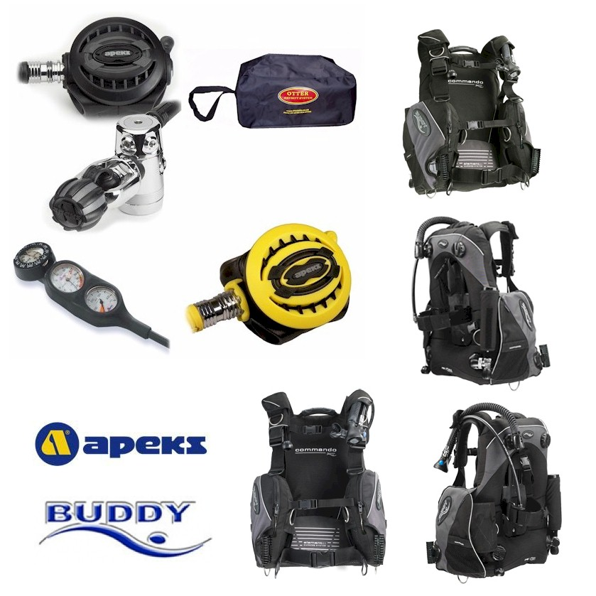 Apeks xtx40 Commando Package