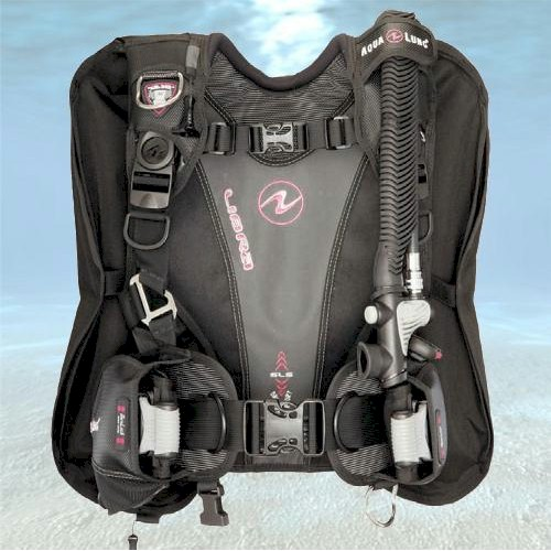 Aqualung Libra Wing | Black/Pink | Medium Large