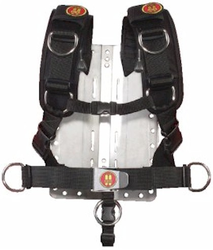 BP133-OMS Comfort Harness with Stainless Steel Backplate