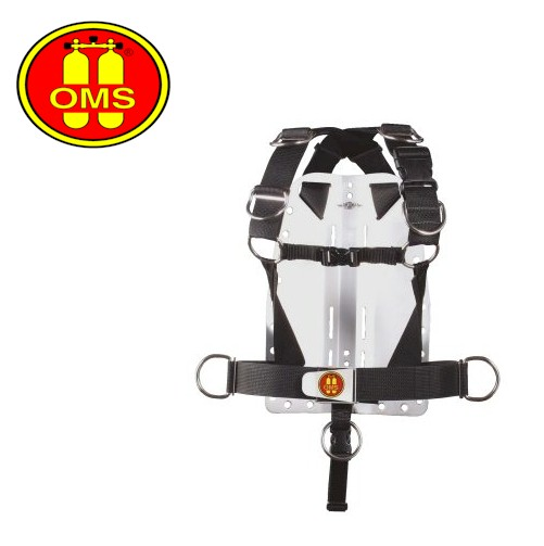 OMS Deluxe Harness with Aluminium Backplate