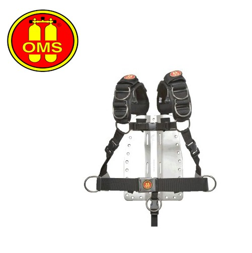 OMS BP134 Comfort Harness II with Stainless Steel Backplate