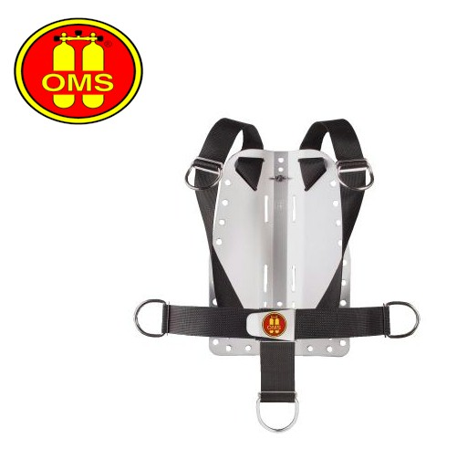 OMS 1-Piece Harness with Stainless Steel Backplate