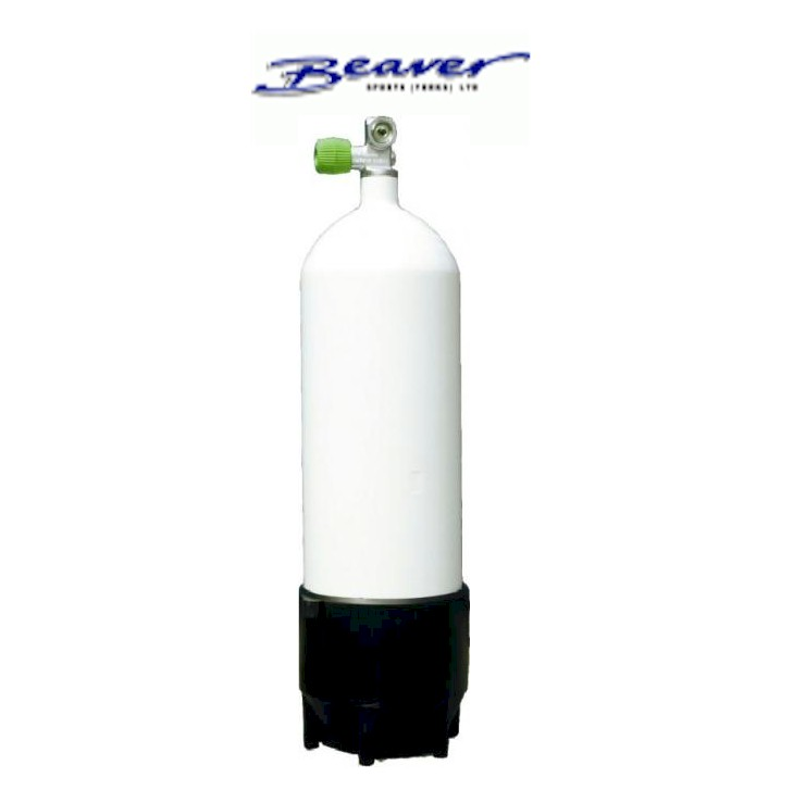 Beaver 12 Ltr Dumpy Steel Cylinder 232 BAR