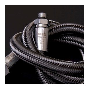 Miflex Hoses.3/8in Reg Hose 210cms/84in Carbon Black SUB 928.210
