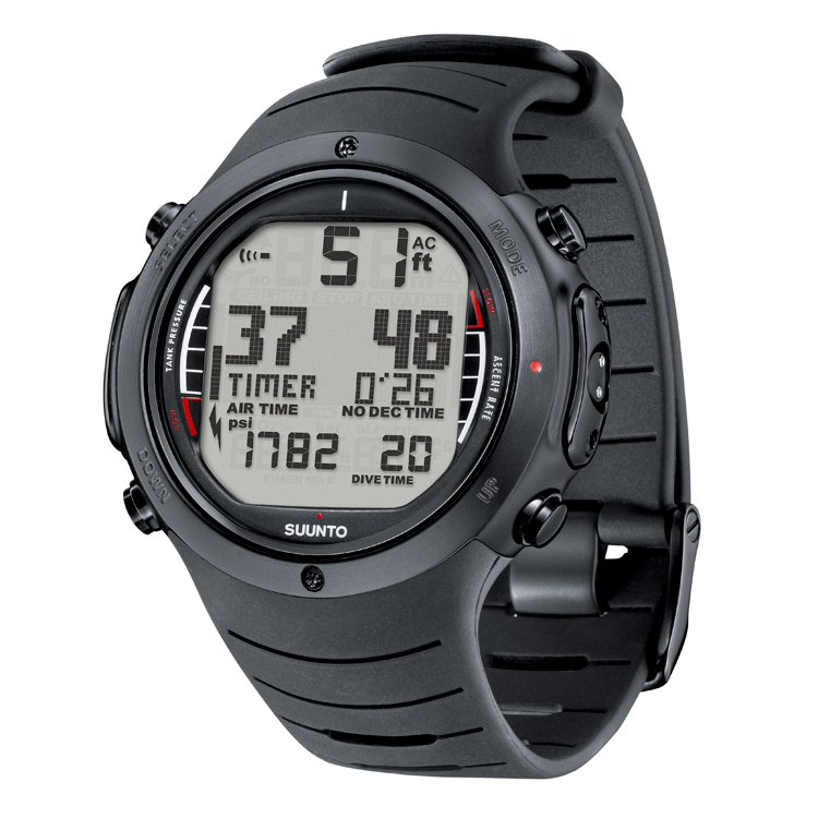 Suunto D6i Computer All Black & USB