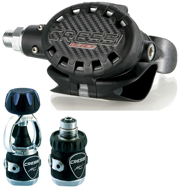 Cressi Ellipse Black MC5 Regulator