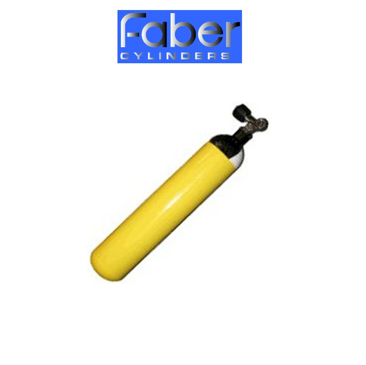 FABER 3 Ltr Pony 232 Bar Steel Cylinder