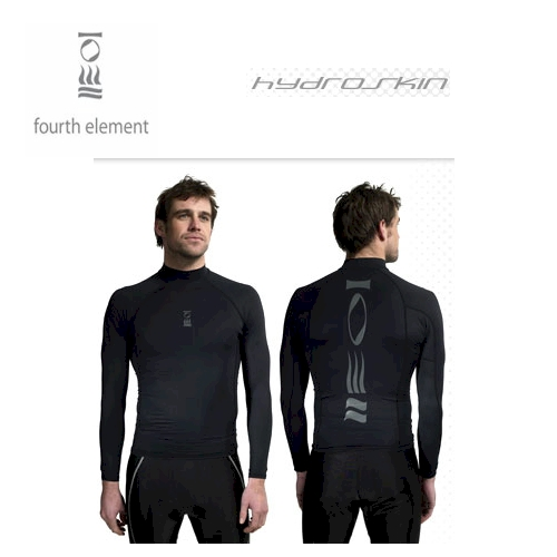 FE Hydroskin Mens Long Sleeved Top Black