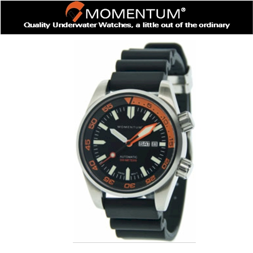 Momentum Innerspace Rubber Watch