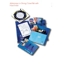 60325-PADI ADVANCED CREWPAK WITH DSMB & WHISTLE