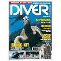 CURRENT ISSUE OF DIVER MAGAZINE