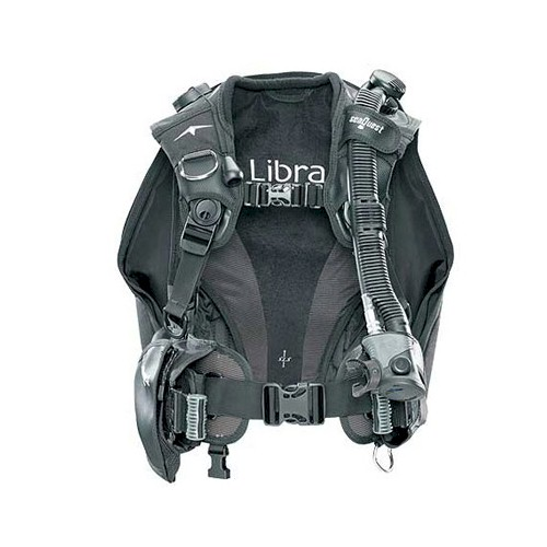Aqualung Libra Wing | Black/Charcoal | Medium Large
