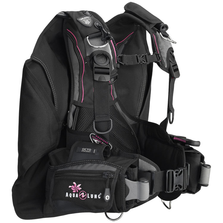 Aqualung Lotus I3 BCD | Charcoal/Pink