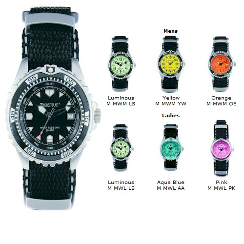 MOMENTUM M1 2oom NYLON WATCH