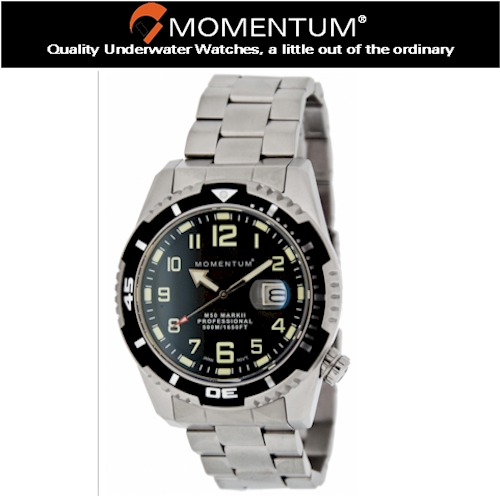 Momentum 500m M50 Stainless Steel Watch