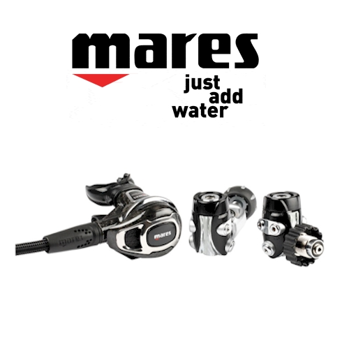 Mares Carbon 52 Regulator A-CLAMP
