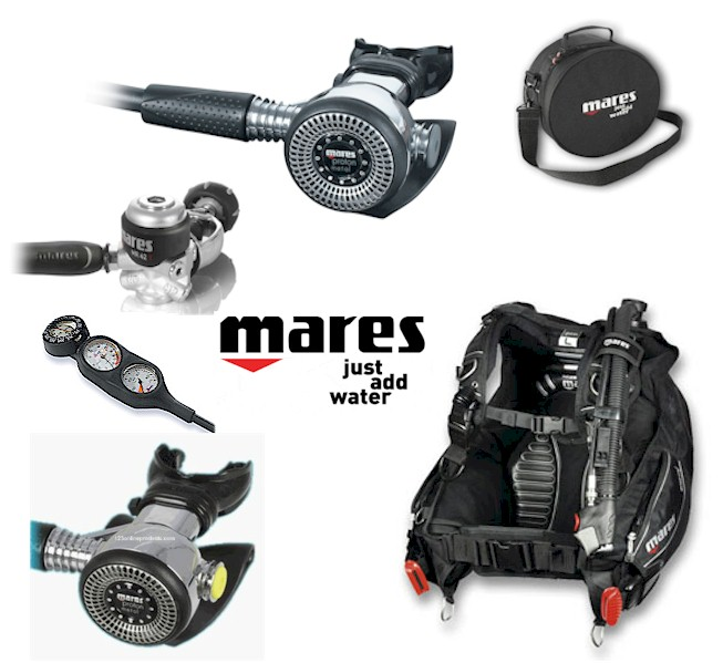 MARES PROTON METAL/DRAGON PACKAGE