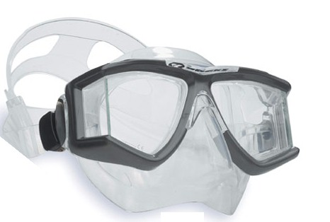 Apeks Quadra Mask Black