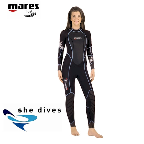 Mares Reef 2.5mm Steamer She-Dives