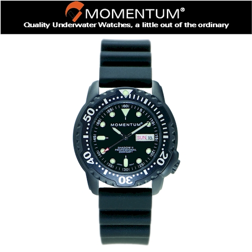 Momentum Shadow II Rubber Watch