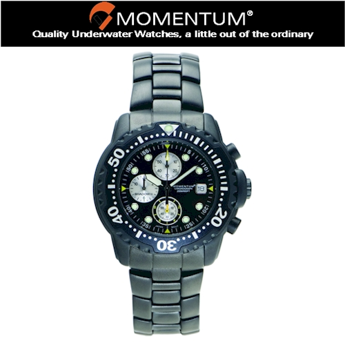 Momentum Shadow Chrono S/S Watch