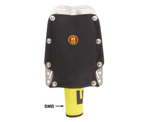 OMS Soft Backpad incl Bolts BCA-BPP-K