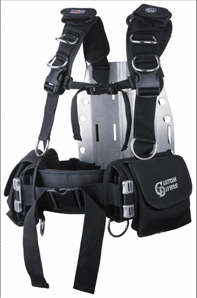 CUSTOM DIVERS SPORTS HARNESS