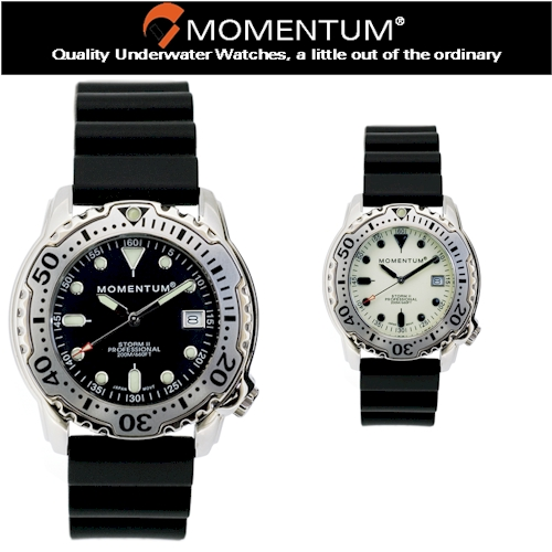 Momentum Storm II Series Rubber Watch